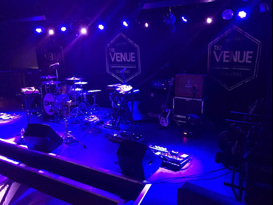 Main stage at The Venue